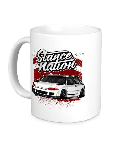 Керамическая кружка Stance Nation