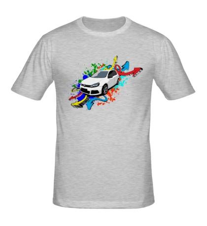 Мужская футболка Golf R Street Style