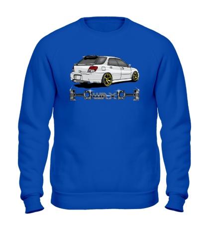 Свитшот Subaru Forester WRX