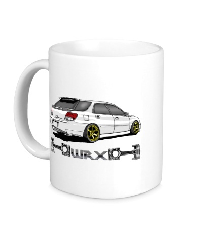 Керамическая кружка Subaru Forester WRX