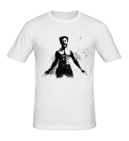 Мужская футболка Ярость Росомахи