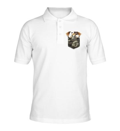 Рубашка поло Карманный Гремлин