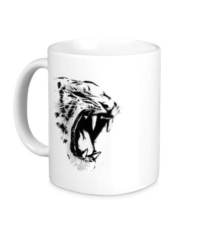 Керамическая кружка Инстинкт тигра
