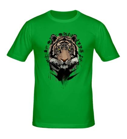 Мужская футболка Black Tiger
