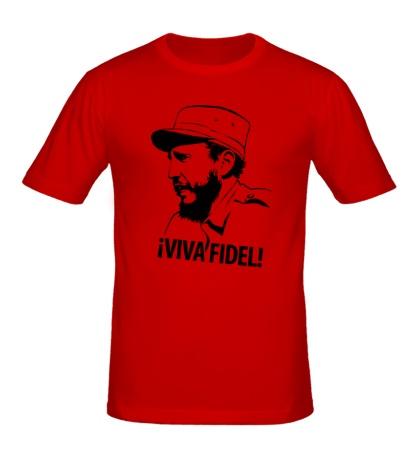 Мужская футболка Фидель Кастро