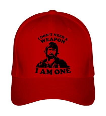 Бейсболка Chuck Norris: I am one