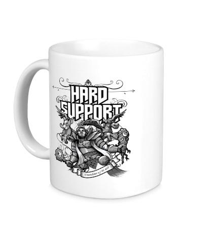 Керамическая кружка Hard Support Omniknight