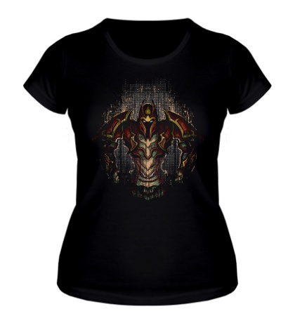 Женская футболка Dragon Knight