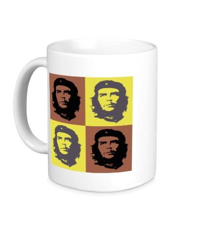 Керамическая кружка Че Гевара: постер