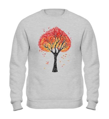Свитшот Осеннее дерево
