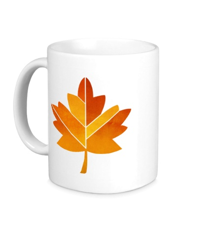 Керамическая кружка Осенний клен