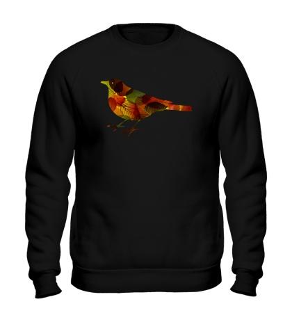 Свитшот Осенния птица