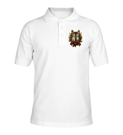Рубашка поло Осенний Волк