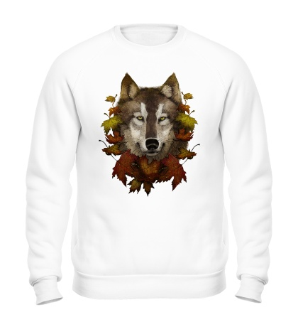 Свитшот Осенний Волк