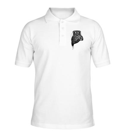 Рубашка поло Ночная сова