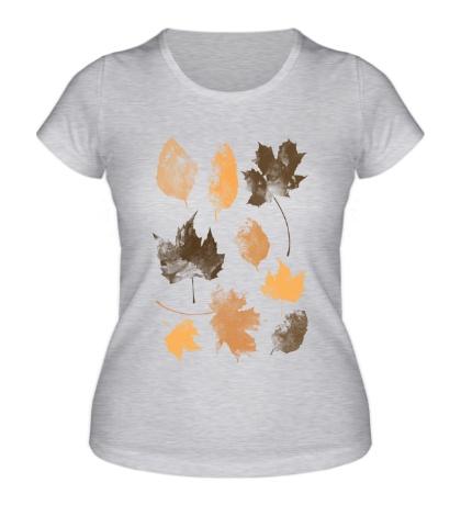 Женская футболка Осенние Листья