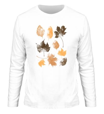 Мужской лонгслив Осенние Листья