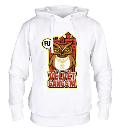 Толстовка с капюшоном Owl gangsta