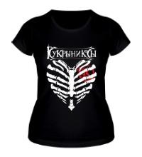 Женская футболка Кукрыниксы