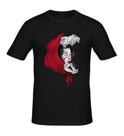 Мужская футболка Девушка-призрак