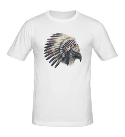 Мужская футболка Ястреб-индеец