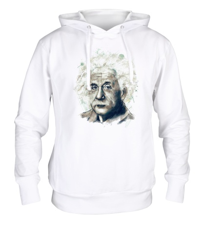 Толстовка с капюшоном Альберт Эйнштейн