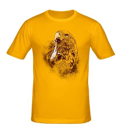 Мужская футболка Хищный ястреб