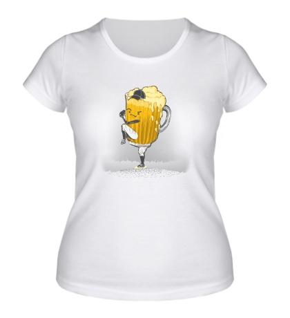 Женская футболка Beer Pitcher