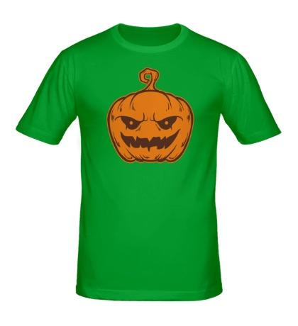 Мужская футболка Злостная тыква