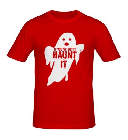 Мужская футболка Haunt it