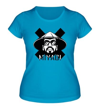 Женская футболка MIYAGI Logo