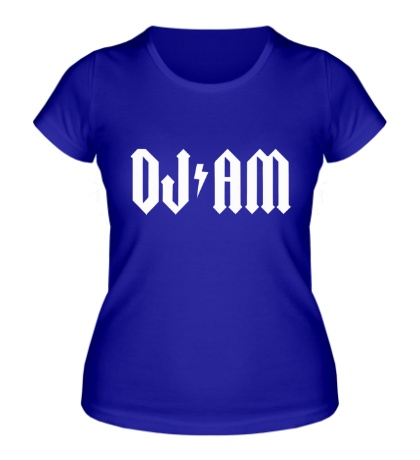 Женская футболка Dj Am