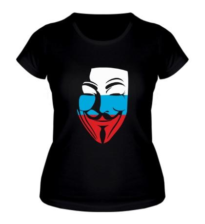 Женская футболка Русский анонимус