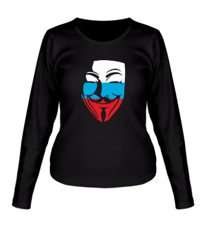 Женский лонгслив Русский анонимус