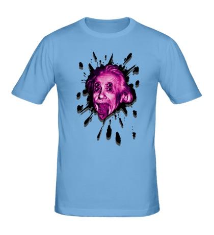 Мужская футболка Странный Эйнштейн