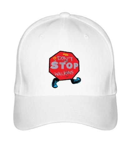 Бейсболка Dont Stop Walking