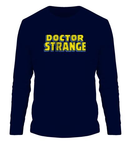 Мужской лонгслив Dr. Strange Logo