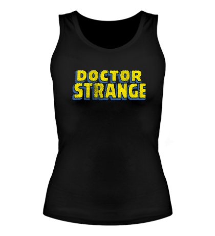 Женская майка Dr. Strange Logo