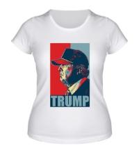 Женская футболка Fancy Trump