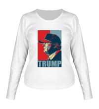 Женский лонгслив Fancy Trump