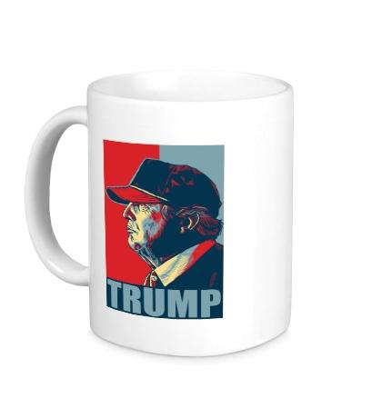 Керамическая кружка Fancy Trump