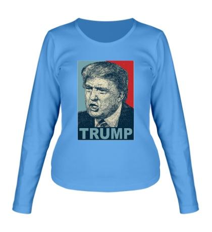 Женский лонгслив Donald Trump