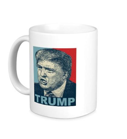 Керамическая кружка Donald Trump