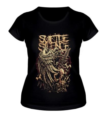 Женская футболка Suicide silence