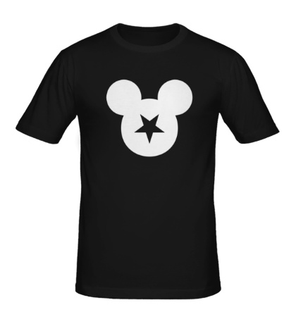 Мужская футболка Звездный Микки