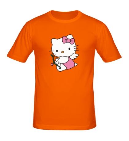 Мужская футболка Китти-амур