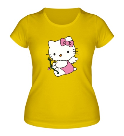 Женская футболка Китти-амур