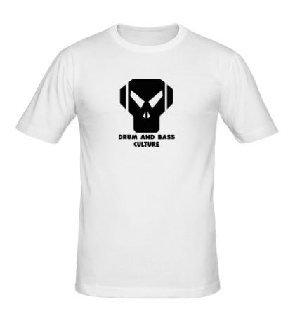Мужская футболка Drum and Bass culture
