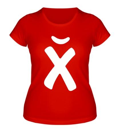 Женская футболка ХЙ