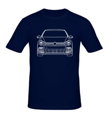 Мужская футболка VW MK6 R